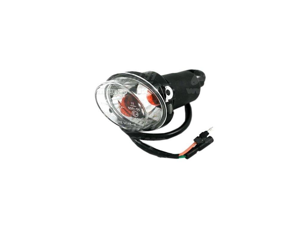 Blinkr přední levý KYMCO MXU 50-150-250-300 QUAD komplet průsvitný