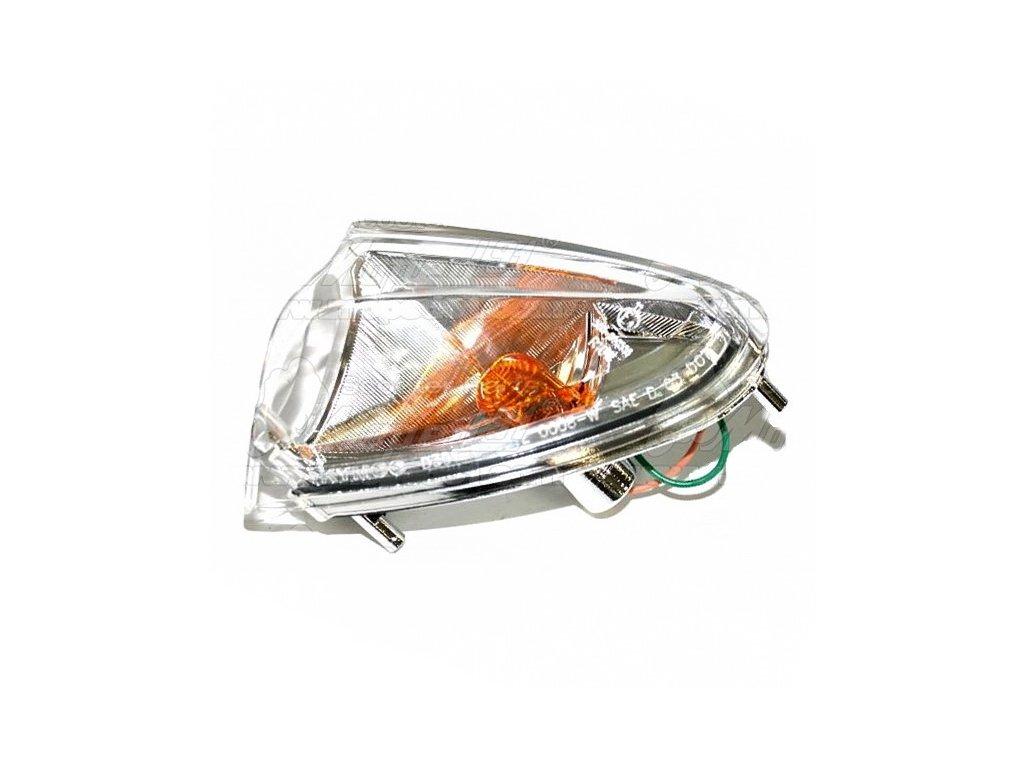 Blinkr přední pravý KYMCO GRAND DINK 125-150-250 komplet průsvitný