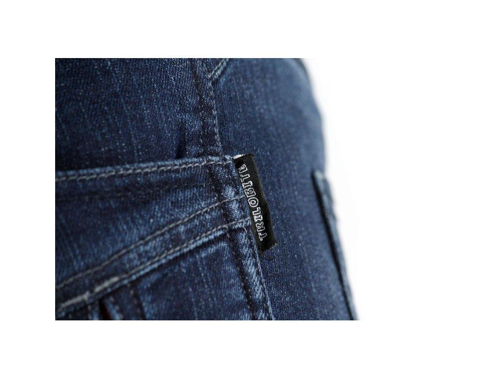 cd6b5d20b TRILOBITE 661 PARADO MEN BLUE TÜV CE kevlarové jeansy - MotoNero.cz
