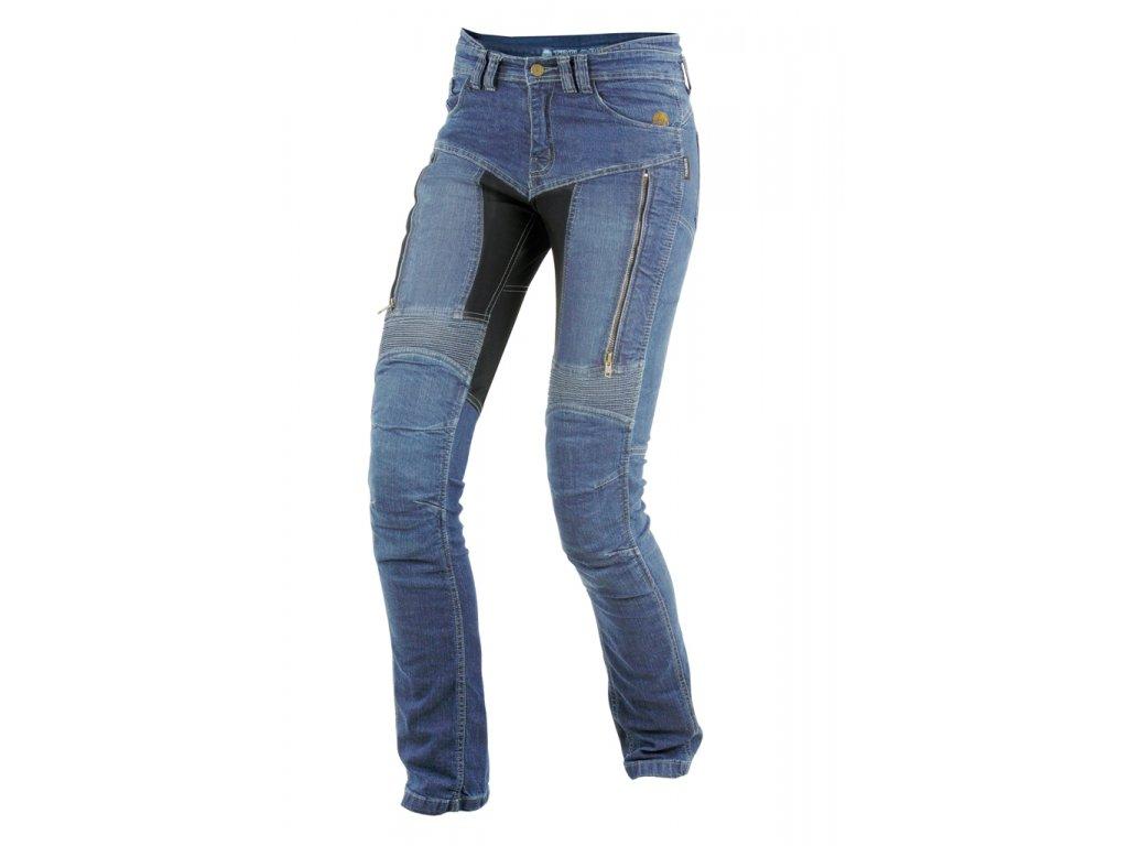 TRILOBITE 661 PARADO LADY TÜV CE BLUE kevlarové jeansy
