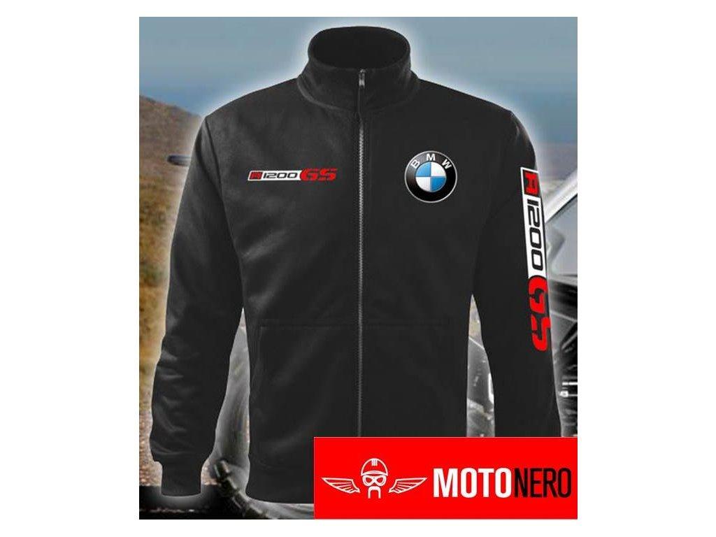 e280506645 Pánská mikina na zip BMW R1200GS