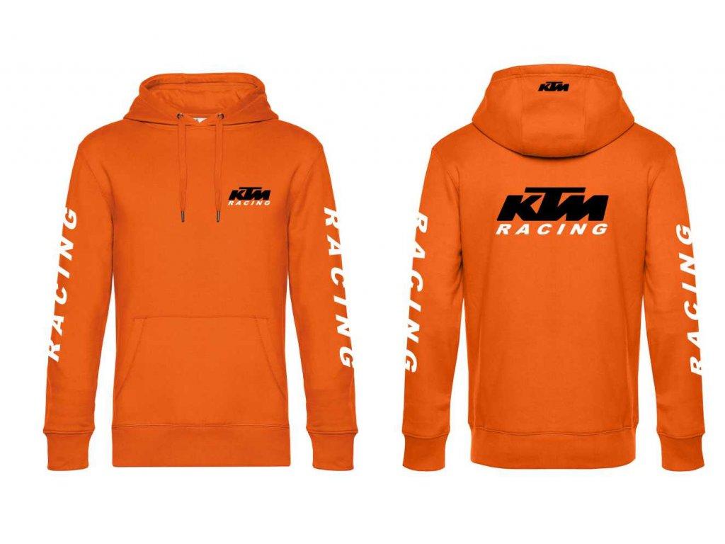 Pánská mikina s kapucí - KTM RACING 629dd525a8b
