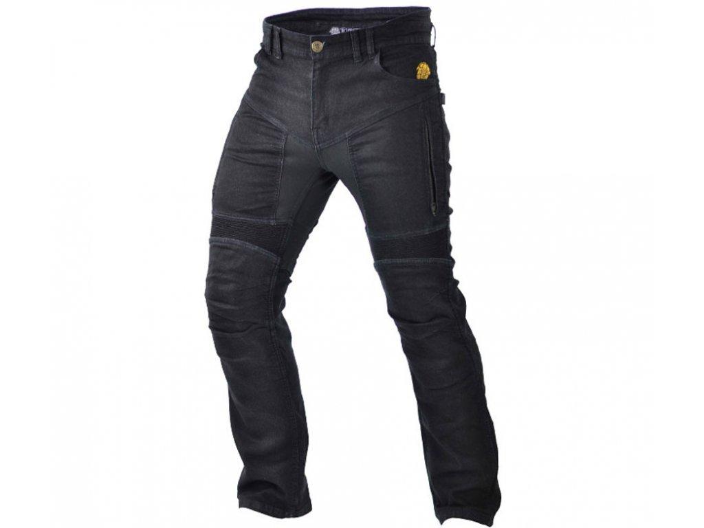 TRILOBITE 661 PARADO MEN TÜV CE BLACK kevlarové jeansy
