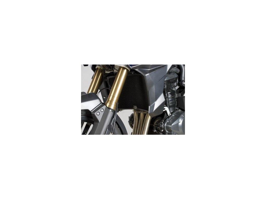 Ochranná mřížka chladiče RG Racing BLACK - Triumph Tiger 1200 Explorer