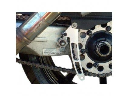 Chránič řetězu, hliník, Honda NC30 / NC35, stříbrný