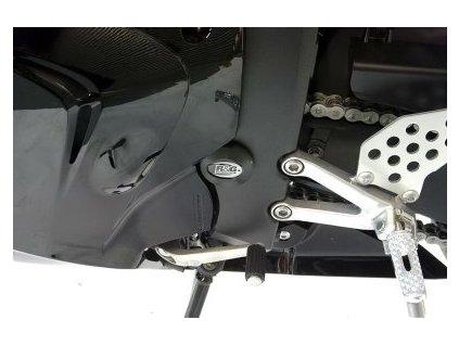 Zátka do rámu, levá, Honda CBR 600RR '09, černá