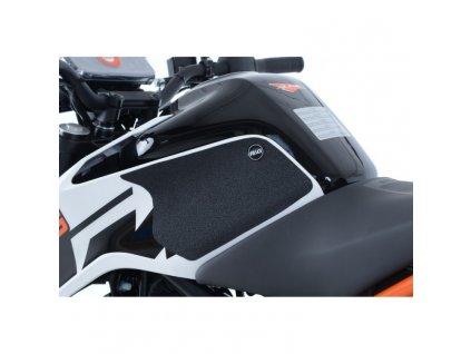 Protiskluzová ochranná fólie na nádrž pro KTM Duke 125 17- průhledná