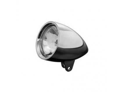 Hlavní moto světlo Highway Hawk CONE, d=180 mm, E-mark, chrom (1ks)