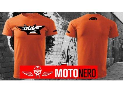 tričko oranžové KTM Duke