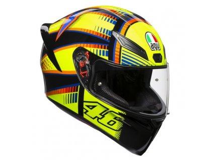 AGV přilba K-1 Rossi VR46 Soleluna