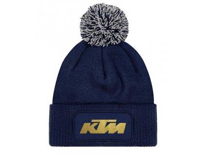 zimní čepice KTM černá
