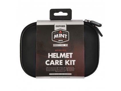 Sada prostředků pro čištění přileb a plexi Mint Helmet Care Kit