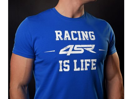 4SR T Shirt Life Blue 2