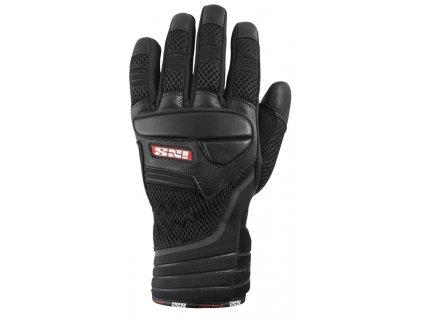 IXS CARTAGO textilní rukavice, černé