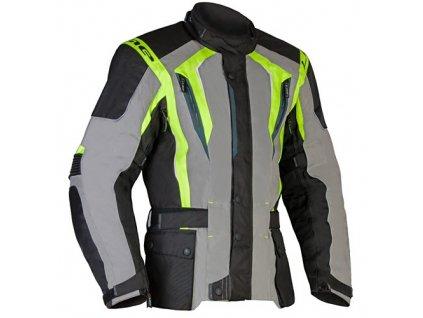 MBW BUDDY GREEN textilní pánská moto bunda
