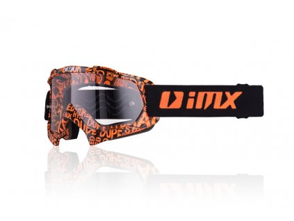 MX IMX BRÝLE MUD GRAPHIC ORANGE MATT/BLACK