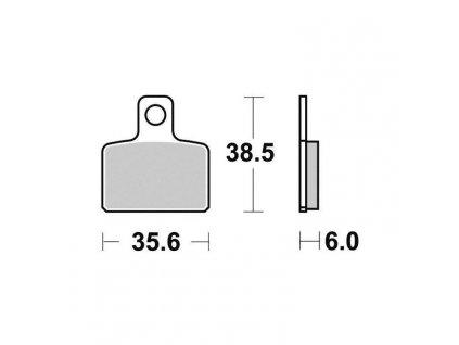 Brzdové destičky Sifam S9003N