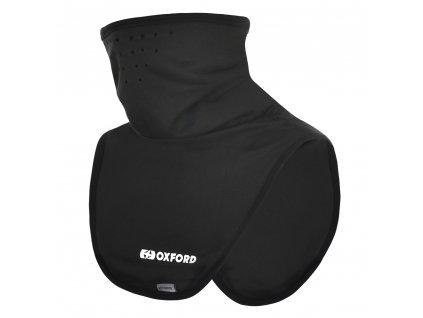 Nákrčník Oxford Deluxe Micro Fleece Black