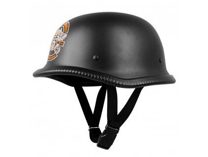 Retro otevřená moto helma Sodager Route 66