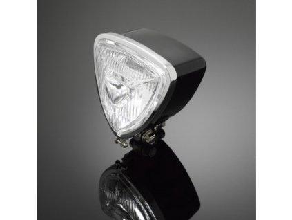 Hlavní světlo na motorku Highway Hawk TRIANGLE - Extreme Line, černá (1ks)