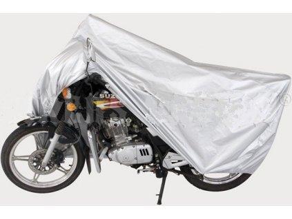 Garage 11105 nejprodávanější plachta na motorku silver