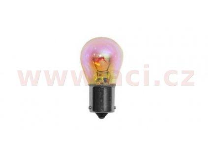 žárovka 12V 21W (patice BAU15s) SILVER LIGHT duhová baňka DIADEM