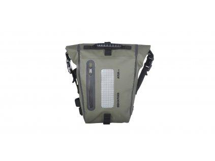 brašna na sedlo spolujezdce Aqua T8 Tail bag, OXFORD (khaki/černá, objem 8 l)