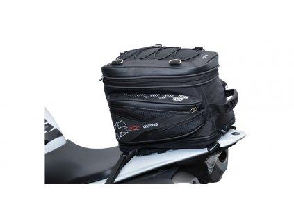 brašna na sedlo spolujezdce T40R Tailpack, OXFORD (černá, objem 40 l)