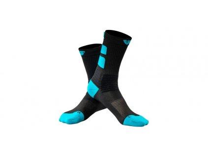ponožky SKY - short, UNDERSHIELD (černá/modrá)