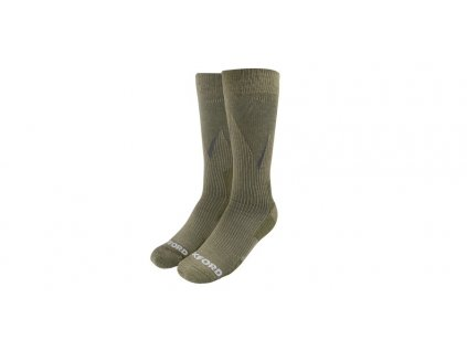 ponožky merino vlna, kompresní, OXFORD (khaki)