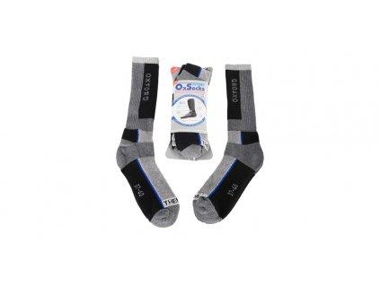 ponožky OXSOCKS, OXFORD (dva páry v balení)
