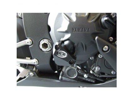 Chránič motoru, pravá strana, Yamaha R1 '07-'09, černý