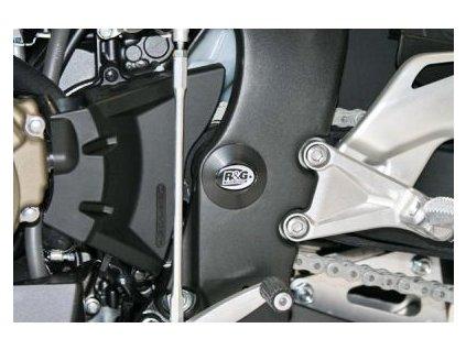 Zátka do rámu, levá CBR1000RR '08-  pravá ZX6 '07-'08  levá ZX6 '09, černá