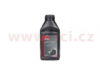 MILLERS OILS Performance Brake Fluid DOT 5.1 - brzdová kapalina 500 ml