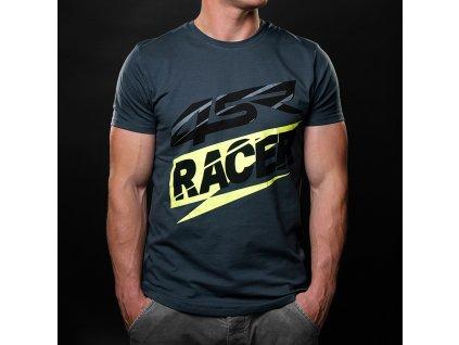 4SR T Shirt 3D Racer Grey 1