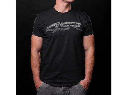 4SR T Shirt 3D Black 1