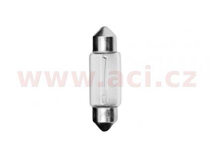 žárovka C10W 12V 10W (patice SV8,5 10x36 mm) HÄKL LAMPE (sada 10 ks)