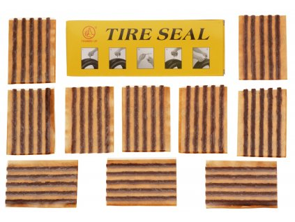 velká sada 50 knotů pro opravu auto/moto pneu (box), THUMBS UP