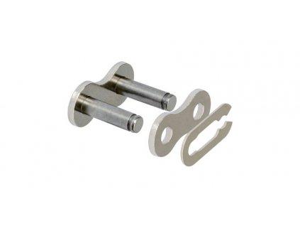 spojka řetězu 420HDR, JT CHAINS (barva stříbrná, rozpojovací, typ SPRING)