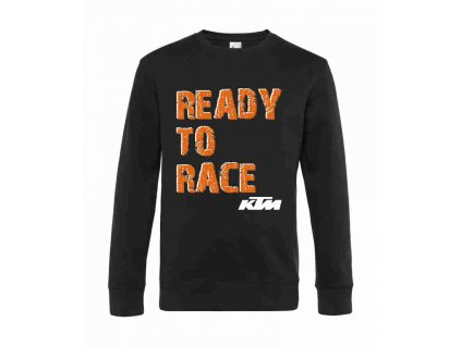 Pánská mikina KTM Ready to race, černá