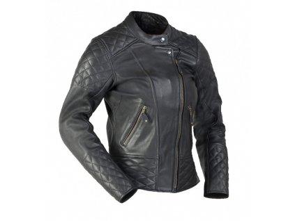 MBW BETTY dámská kožená bunda černá