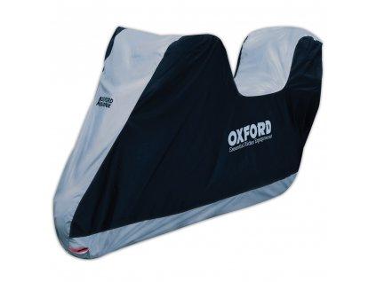 Plachta na motorku Oxford Aquatex M s prostorem na kufr