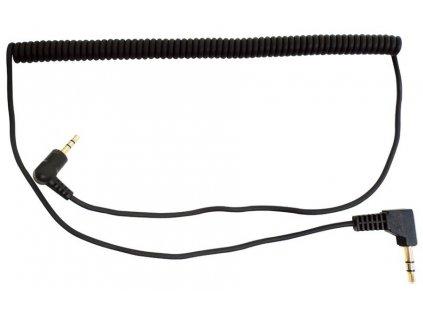 stereo audio kabel zahnutý 2,5 mm / 3,5 mm, SENA