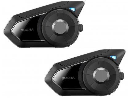 Bluetooth handsfree headset 30K (dosah 2 km), SENA (sada 2 jednotek)