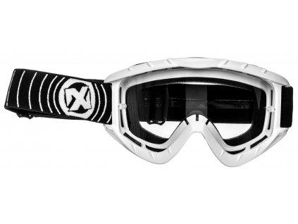MX brýle N1, NOX (bílé)