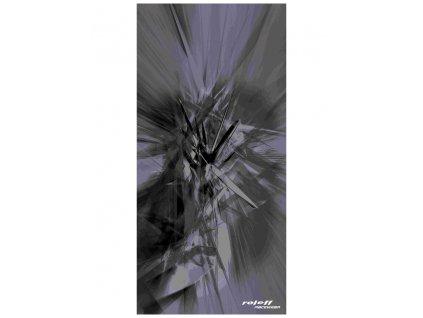 nákrčník Grafic, ROLEFF - Německo (šedý)