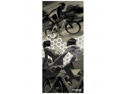 nákrčník Cycle, ROLEFF - Německo (černý)