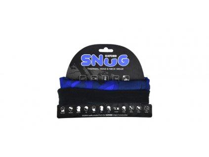 nákrčník SNUG BLUE HAVOC, OXFORD (modrá/černá)