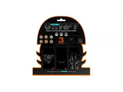 nákrčníky Comfy Harley Davidson Graphics, OXFORD (sada 3 ks)