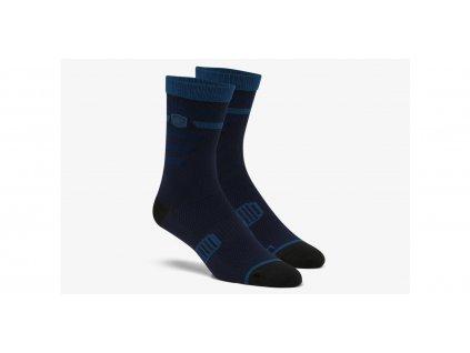 ponožky ADVOCATE, 100% - USA (modré navy)